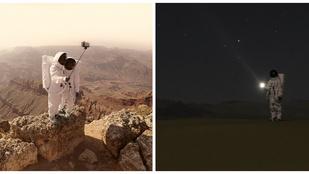 Ha az űrhajósok szelfibottal fedeznék fel a Marsot