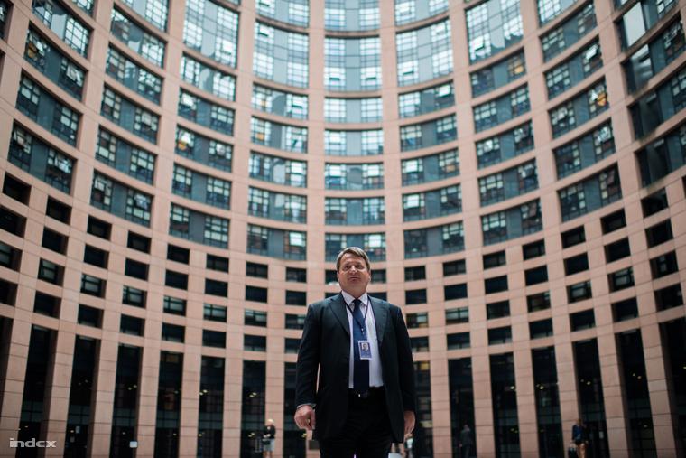 Kovács Béla, a Jobbik EP-képviselője