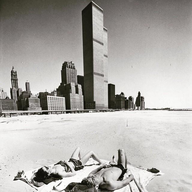 BjarkeIngels a 70-es évek New Yorkjáról töltött fel nemrég egy képet. Háttérben a World Trade Center.