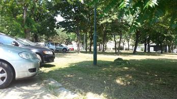 Zöld Pardon volt, zöld park lett volna, parkoló lett