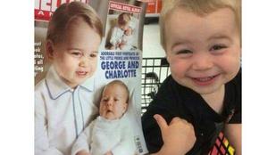 Ez a kisfiú azt hiszi, hogy ő maga György herceg