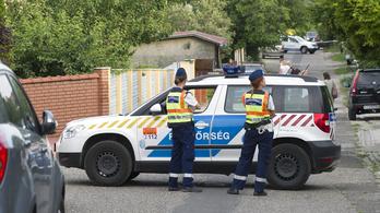 Rendőrre támadt egy férfi Budakalászon, rálőttek