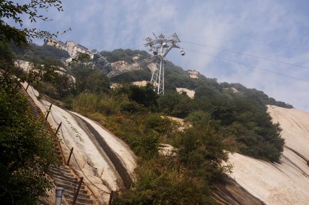 Huashan kötélpálya, Senszhi, Kína