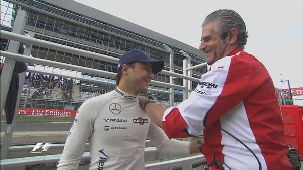 Dehát nem is én rúgtalak ki a Ferraritól, Felipe!