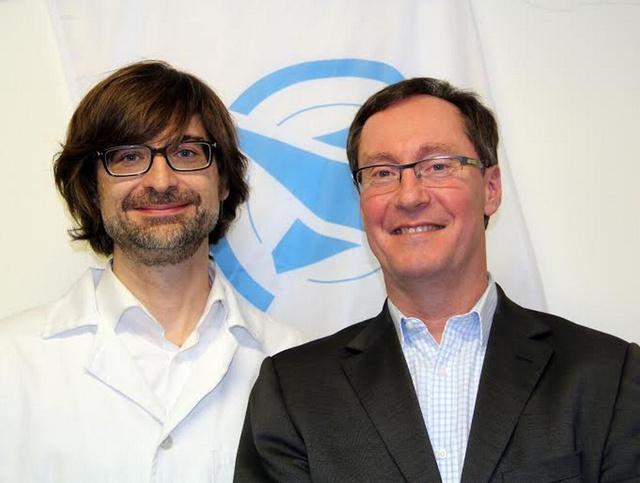 Dr. Peták István tudományos igazgató - Oncompass Medicine, Frédéric Ollier CEO - Oncompass Medicine
