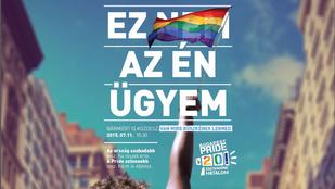 Ilyen lesz a Budapest Pride idei plakátja
