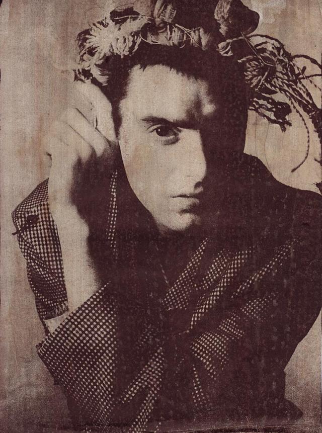 A képet a tervező fotós barátja, Mark Lebon lőtte a nyolcvanas években.