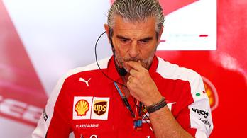 A Ferrari-főnöknek nem tetszik, hogy pénteken még remélhetik a Merci-verést