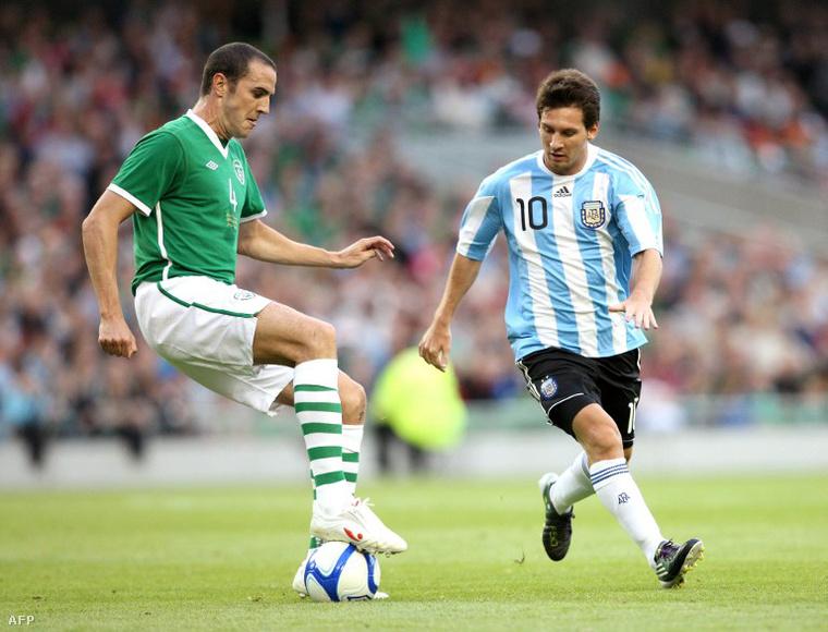 Messi a 2010-es írek elleni meccsen