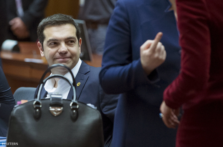 Alexis Ciprasz a brüsszeli találkozón
