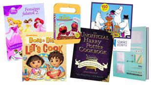 Mesehősös szakácskönyvek, gyerekeknek