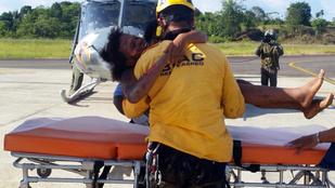 Lezuhantak repülővel, öt napig éltek a dzsungelben