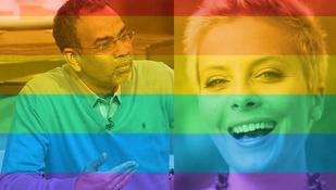 Magyar és külföldi sztárok egyaránt ünneplik a melegházasságot