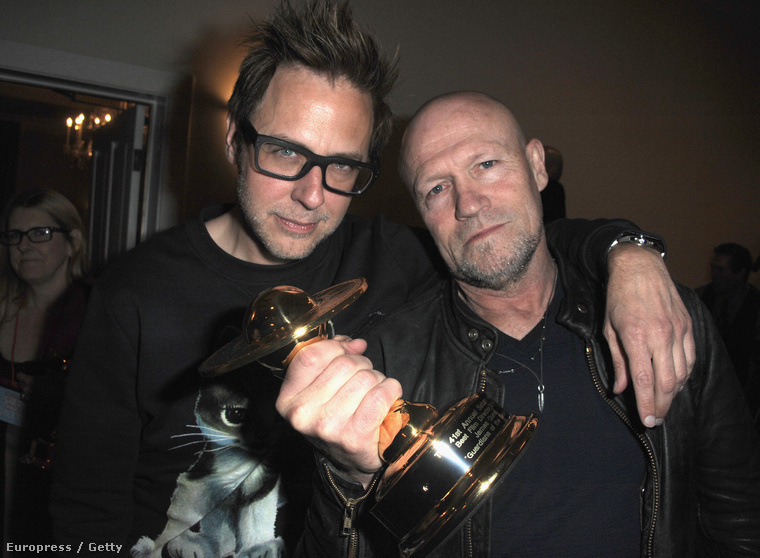 James Gunn és Michael Rooker