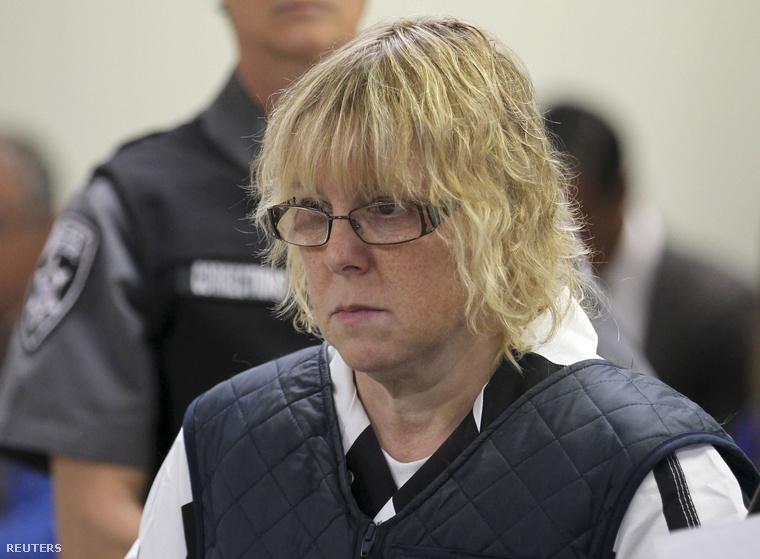 Joyce Mitchell a Plattsburgh City bíróságon június 17-én