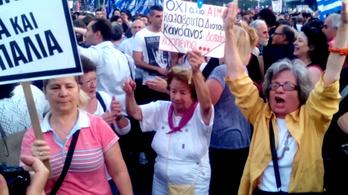 Vurstlihangulatban buliznak az EU-t ellenző görögök