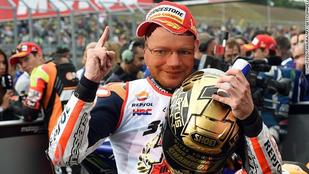 Szerintem nem kamu, ezek tényleg a MotoGP nagyágyúi!