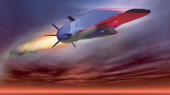 A hangsebesség ötszörösével repül majd az USA gépe