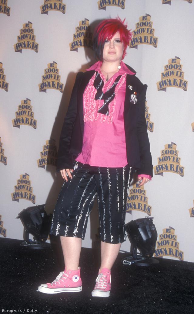 Az 1984-es születésű Osbourne lány a 2002-es MTV Movie Awardson.