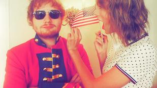 Taylor Swift és Ed Sheeran a mai napig voltak legjobb barátok