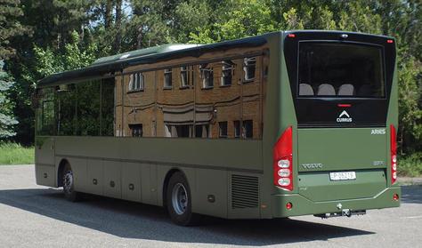 Magyar gyártású katonai buszt villantottak