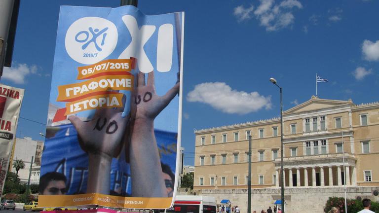 Jó nagy a baj Görögországgal