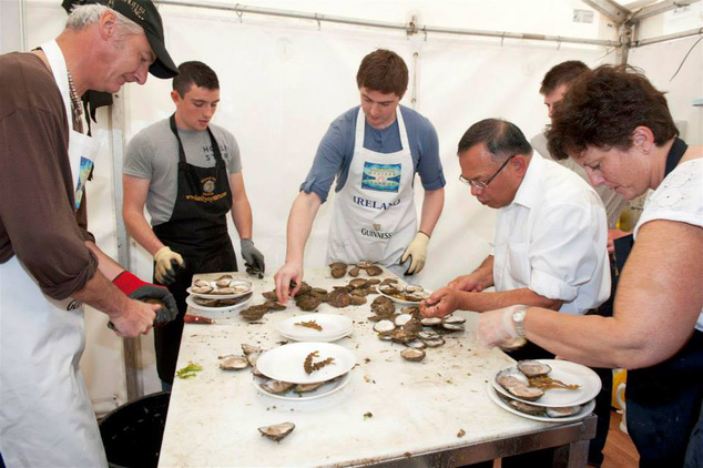 Galway International Oyster and Seafood Festival