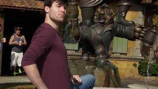 A Disneylandben dolgozott a fején tűzijátékot robbantó férfi