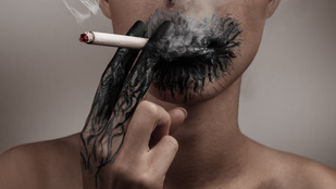 Nemcsak ráncos, sebhelyesarcú is lesz a cigitől