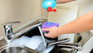 Allergia ellen mosogasson kézzel