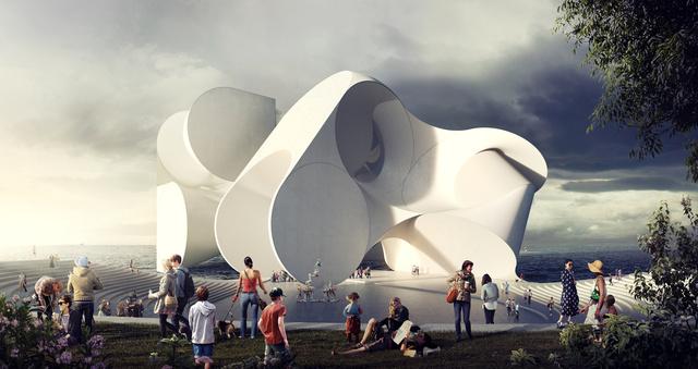 Egy diákokból álló osztrák székhelyű építészcsapat, a Studio Hani Rashid a napokban mutatta be legújabb,futurisztikus tervrajzát, amit a cirkuszkultúrát gyökereiben átértelmező kanadai Cirque du Soleil brooklyni központjának tervezett.