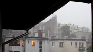 Haldoklik a meteorológiai szolgálat honlapja a vihar miatt