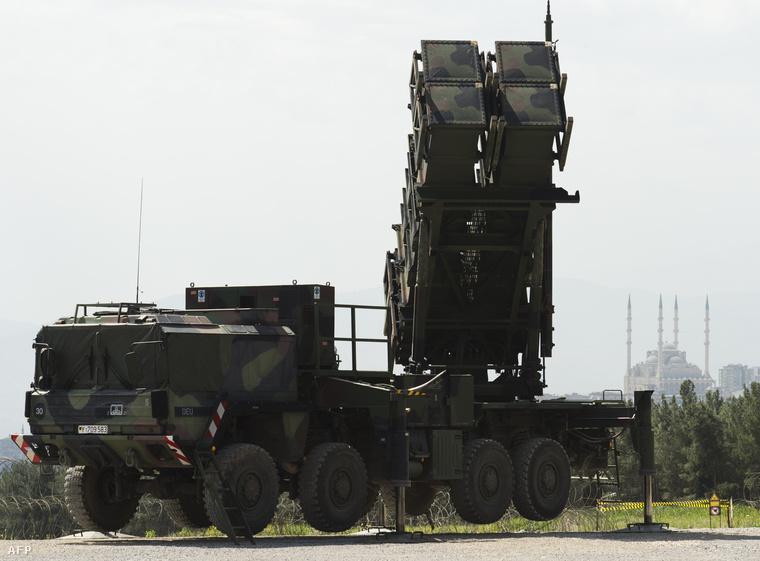 Német Patriot rakéta Törökországban