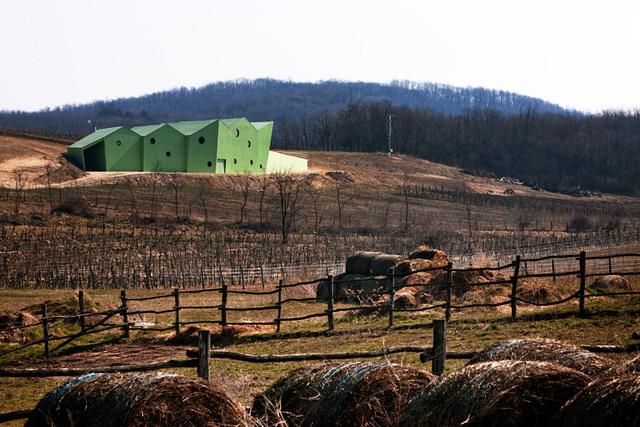 """"""" A szőlőlé üzem építésére kiszemelt terület Győrújbarát határában kordonos művelésű szőlőparcellák között fekszik. A művelés alatt álló területen belül ez a legszembetűnőbb magaslat, ahonnan a környék egybelátható, s ahonnan szórvány települési részek kerülnek a szemlélő látókörébe."""""""