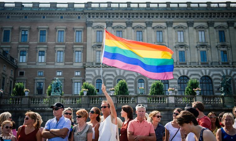 Résztvevők a Stockholm Pride-on 2014-ben