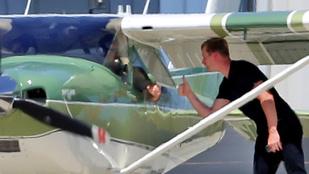 Harrison Ford súlyos balesete után újra repülőre ült