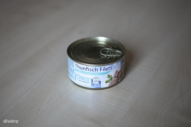 Ez már az aldis saját márkás tonhala.