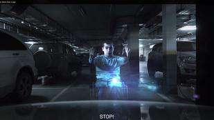 Hologrammal őrzik a mozgáskorlátozottak parkolóhelyeit Oroszországban