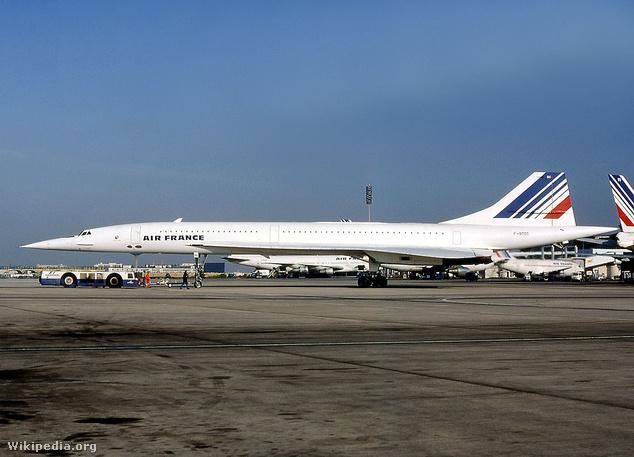 A balesetben megsemmisült F-BTSC lajstromú Concorde 1985 nyarán