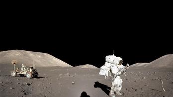 Az amerikai űrhajósok megbetegedtek a Holdon
