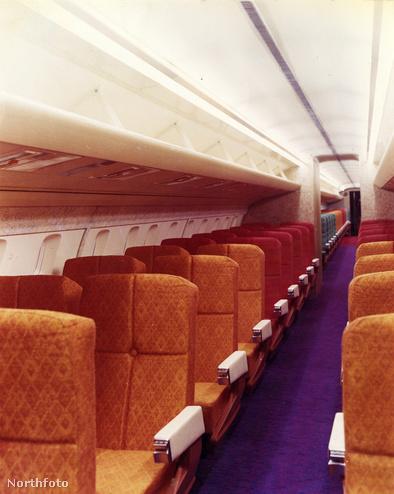 Az 1967-ben gyártott Concorde-ok üléshuzatait Tibor Reich tervezte