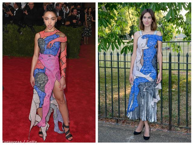 Két ruha, egy ötletgazda: Christopher Kane