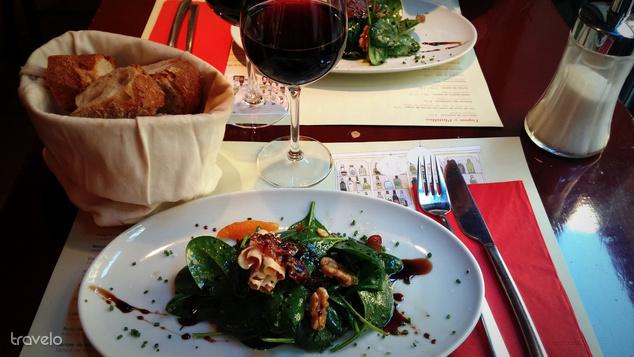 Előétel a kedvenc barcelonai éttermünkben