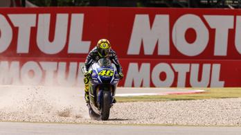 Rossi necces manővere sokakat kiborított
