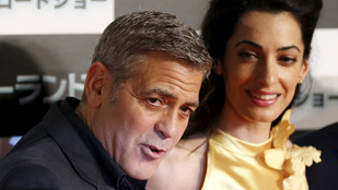 Clooney-ék családostul mentek Olaszországba