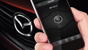 Telefonról irányíthatók az új Mazdák – méregdrágán