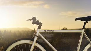 Már sötétben világító bicikli is van
