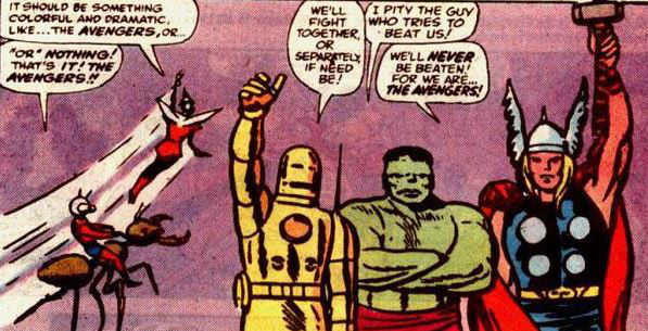 Íme Hangyaember, Darázs, Vasember, Hulk és Thor, azaz a Bosszúállók a daliás 60-as években