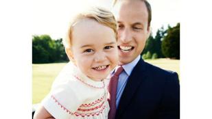 Újabb fotót tettek közzé György hercegről