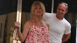 Goldie Hawn ijesztőre sült Stallone jachtján